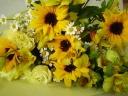 ヒマワリのお祝い花束♪