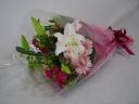 スプレーバラとユリの花束♪・ピンク