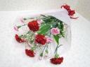 カーネーションの花束♪