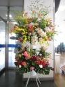 お祝いスタンド花・お花おまかせ2段