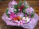 ☆春の花鉢リース☆