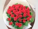 赤バラ40本の花束