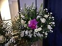 葬儀用スタンド洋花生花
