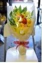 ナルのビタミンカラーな花束(*'ω'*)