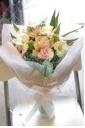 結婚祝に!あわぁ~いさわやかな花束@ナル