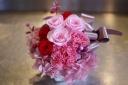 お母さんも超大喜びピンクなプリザーブドフラワー♪