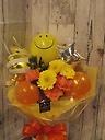 Smileバルーンのブーケ♪イエローオレンジ系