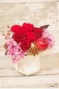 赤バラいっぱいなプリザ♪