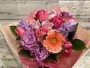 カシスなピンクパープルの花束