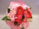 ガーベラのキュートな花束