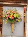 【スタンド花】トロピカルな雰囲気のスタンド花