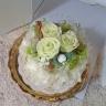 【プリザのケーキ】プリンセス メロンムース