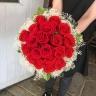 【プリザ】赤バラ20本のブーケ