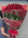 厳選赤バラの花束