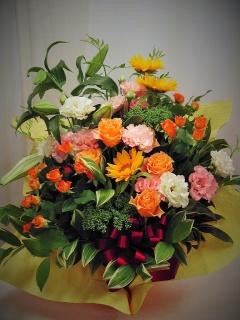 スー・ル・ヴァンが贈る豪華なアレンジ