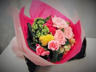 スー・ル・ヴァンのカラフル花束