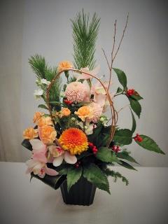 スー・ル・ヴァンが贈りお正月アレンジ