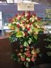 mimosaお任せ2段スタンド花