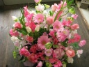 Mimosaセレクト 春満開アレンジ ピンク