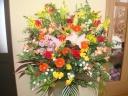 お祝用スタンド花