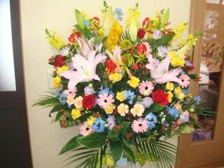 お祝い用スタンド花(1段)
