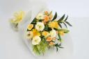 黄色・オレンjでまとめたボリューム花束!
