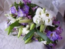 トルコキキョウのお供え花束