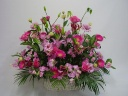 ピンクのお花のアレンジメント♪
