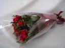 赤バラ・1ダースの花束♪