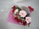 当店オリジナル♪赤×ピンク系の花束