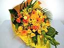 ボリューム満点♪ビタミンカラーの花束♪