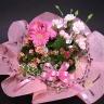 【母の日】 ピンクのカーネーション寄せ鉢