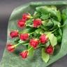 【母の日】 赤バラの花束
