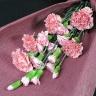 【母の日】ピンクのスタンダード花束