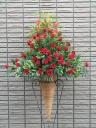 赤バラのスタンド花 【 セルシア 】