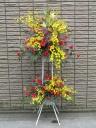 華やかなスタンド花 【 トロピカル 】