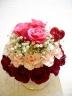 母の日限定 バラいっぱいのフラワーケーキ