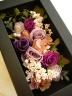 壁掛けフレーム (Violet Roses)