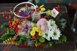迎春!お花のおせち♪