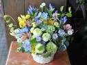 仏様にかわいいお花を!