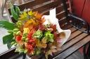 秋色花束 hanakuraスタイル