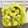 黄バラの花束 ピッコロ