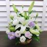 ご供花アレンジメント 紫雲