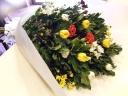 菊のお供え花束