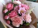 カーネーションと薔薇のブーケ~Pink~