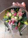 春の訪れ チューリップ花束