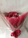 春の訪れ 真っ赤な花束