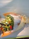 イエローオレンジ系花束