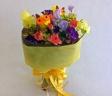 [花束019]かわいいふくろうの花束
