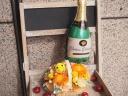 ニコニコマーク☆ビタミンカラー シャンパンバルーン